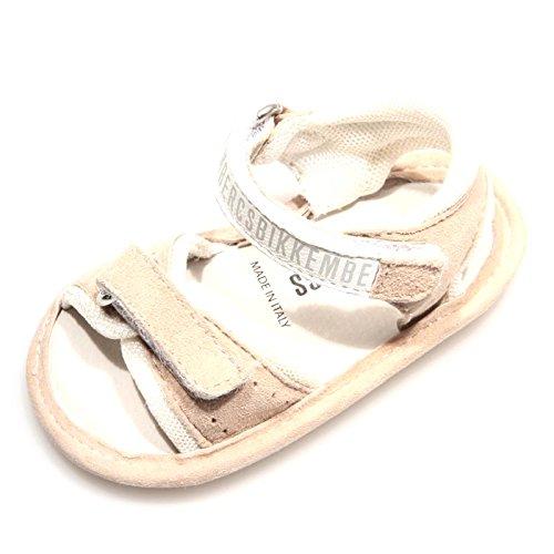 78942 sandalo culla MY FIRST BIKKEMBERGS SOCCER SUEDE scarpa bimba shoes kids [M]