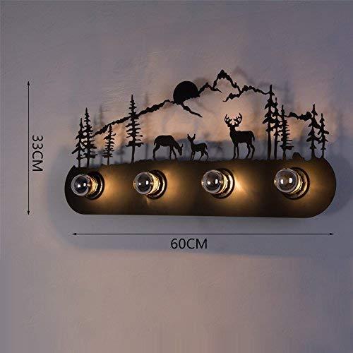 B&D BD Kreativ und Praxis der Flurlichter Haus nachhaltige Lampen Lampe, Wandleuchte Retro/Wandleuchte Indoor/Outdoor im europäischen Stil Industrie Retro,# 12 -