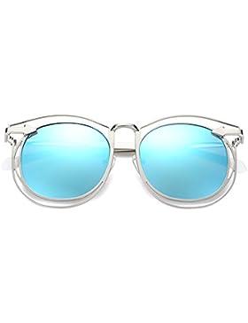 Amazing Gafas de sol Mujer Verano Gafas de sol transparentes Viajes en la playa Ocio Conducir Gafas polarizadas...