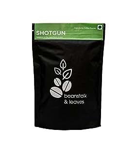 Beanstalk & Leaves Shotgun Blended Coffee Powder , 250 g , Filter Coffee , Black Coffee, Latte , Espresso