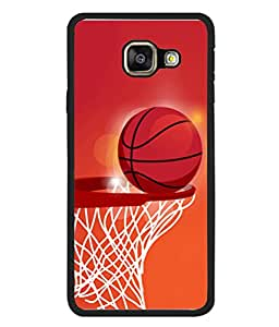 PrintVisa Animated Basket Ball High Gloss Designer Back Case Cover for Samsung Galaxy A7 (2015) :: Samsung Galaxy A7 Duos (2015) :: Samsung Galaxy A7 A700F A700Fd A700K/A700S/A700L A7000 A7009 A700H A700Yd