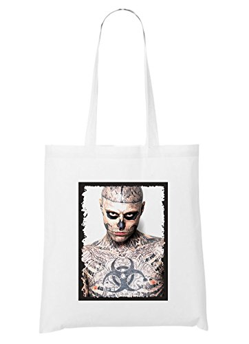 Certified Freak Tattoo Zombie Bag White