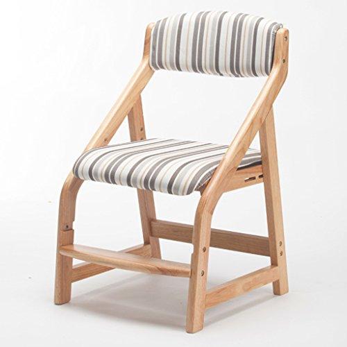 ERRU-Chaises Chaise réglable Chaise en bois massif Chaise de table à manger Chaises de ménage (3Colors, 46 * 49.5 * 77cm) (Couleur : C)