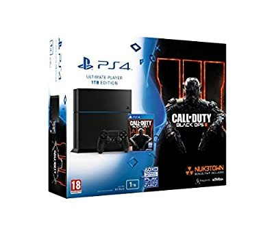 Sony PlayStation 4 1TB with Call of Duty : Black Ops 3