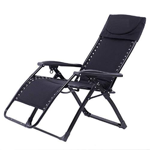 Square Patio-möbel-abdeckungen (HhGold Liegestühle | Schwerkraft Patio Lounge Chair Recliner übergroßen XL Padded Free-Einstellung Heavy Duty Square Legs mit Kopfstütze für Garden Outdoor Hof Unterstützung 300lbs, 2 Pack)