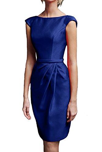 Ivydressing - Robe - Trapèze - Femme Bleu - Bleu royal