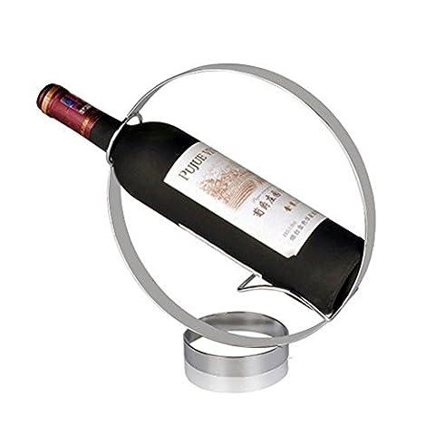 ZJWineracks Edelstahl minimalistischen Kreative bar Wine Rack (94 Wall Basis)