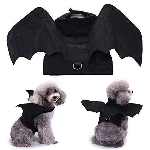 Renendi - Vestiti per Animali Domestici, a Forma di Pipistrello, per Halloween, Cosplay, Festival e Fest