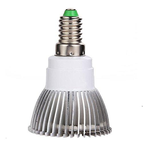 Demiawaking Vollspektrum Licht zu Wachsen 6W LED Grow Lampe für Blume Pflanze Gemüse