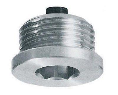 """Hydraulische magnetisch Ölablass stecker mit sechskant schlitz, 1/2"""" BSP, TCEM3G"""