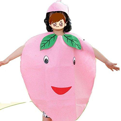 Imagen de niños frutas verduras y naturaleza disfraces disfraces chicos y chicas melocotón  alternativa