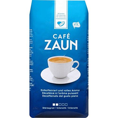 Kaffee Zaun Bohnen Entkoffeiniert