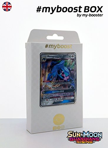 Coffret #myboost METAGROSS GX (Metalosse) 85/145 - SUN AND MOON 2 - 10 cartes Pokemon anglaises
