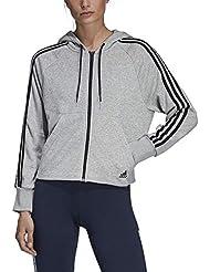 adidas W Mh 3s Fz HD Sweat-Shirt Femme