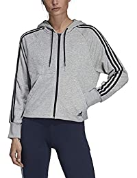 Adidas Felpa Donna Abbigliamento it Amazon 2xl vZpnzZg