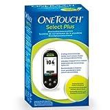 OneTouch Select Plus የደም ውስጥ የግሉኮስ ሜትሪክ mg / dL, 1 St