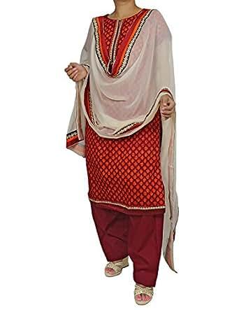 baumwolle salwar kameez indische kleidung modernen. Black Bedroom Furniture Sets. Home Design Ideas