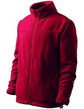 Kinder Fleece Jacke | angenehm flauschig & 1A Stoffqualität von 4 bis 10 Jahre