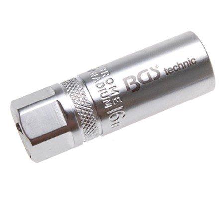BGS Zündkerzen-Einsatz, 16 mm, mit Haltefeder, 2401