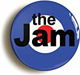 """THE JAM TARGET"" RETRO PUNK MOD BADGE (Size is 1inch/25mm diameter) PAUL WELLER"