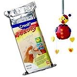 """Modelliermassen-Set Havo26025 """"Do & Dry"""" von Creall,250g, weiß"""