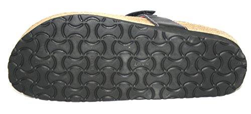 Naot Daytona–Scarpe da donna a sabot/dita dei piedi nero (nero)