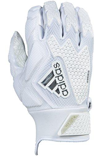 adidas Freak 3.0 American Football leicht gepolsterte Handschuhe - weiß Gr. S (Gepolsterte Handschuhe Football)