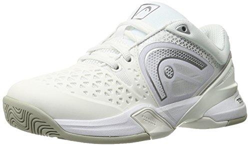 HEAD Damen Revolt Pro Tennis Schuh, Weiß - Weiß/Silber - Größe: 36,5 EU F UK