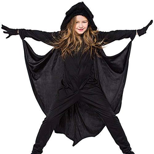 Tierische Kostüm - AIYA Neutrale Jumpsuits für Kinder-Leistungskleidung Tierische Fledermaus-Kostüme Halloween-Kostüme Bühnenkostüme