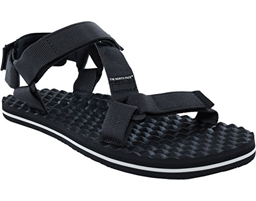 The North Face Herren Base Camp Switchback Sandalen Trekking-& Wanderschuhe, Schwarz (TNF Black/Vintage White), 43 EU