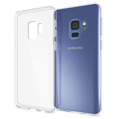 NALIA Handyhülle kompatibel mit Samsung Galaxy S9, Soft Slim TPU Silikon Case Cover Crystal Clear Schutzhülle Dünn Durchsichtig, Etui Handy-Tasche Backcover Transparent, Phone Schutz Bumper