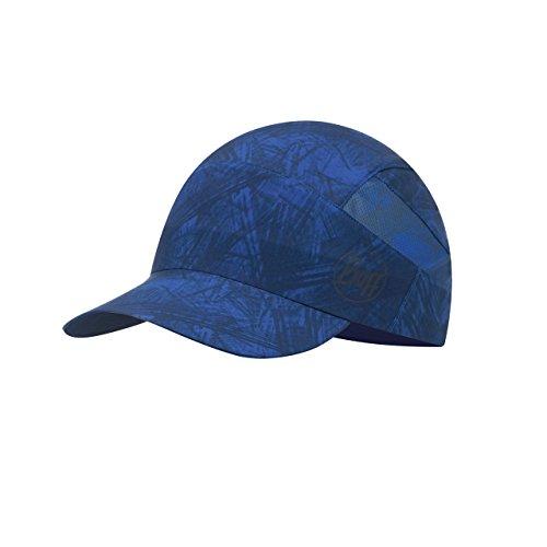 BUFF CAP, Casquette en matière tres fin avec visière extragrand 98% UV-protection, marine, taille unique