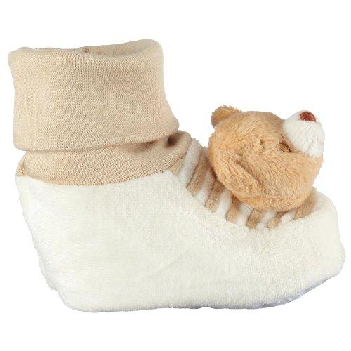 Playshoes 101102, Chaussures mixte enfant Beige