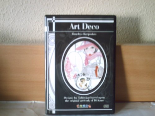 ART DECO TIMELESS KEEPSAKES (CD ROM) by Di Kaye