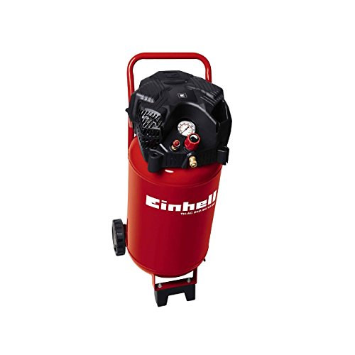 Compressore verticale salvaspazio a secco 50 Lt Einhell 2HP 10 BAR professionale