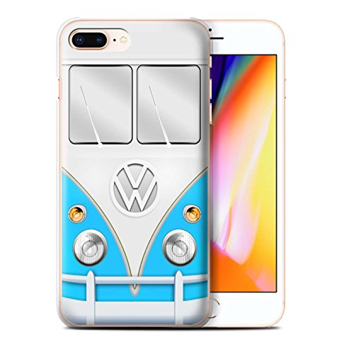 STUFF4 Phone Case / Cover for Apple iPhone 5/5S / Red Design / VW Camper Van Collection Blu