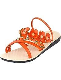 6369c35d Amazon.es: Naranja - Zapatillas de estar por casa / Zapatos para ...
