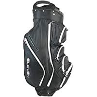 Eleven 2018 Golf Tour Men's Lightweight Black Cart Trolley Bag 15 Way Divider