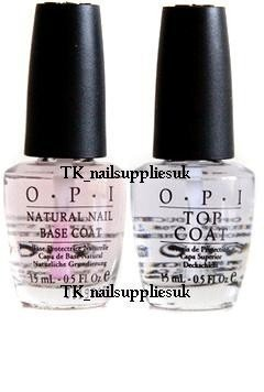 OPI Natural Nail Base and Top Coat 15 ml
