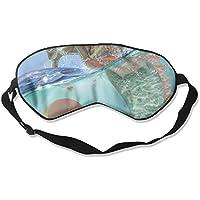 Sleep Eye Mask Hippocampus Abstract Lightweight Soft Blindfold Adjustable Head Strap Eyeshade Travel Eyepatch E4 preisvergleich bei billige-tabletten.eu