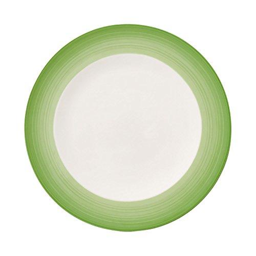Villeroy & Boch Colourful Life Green Apple Plato llano, 27 cm, Porcelana...