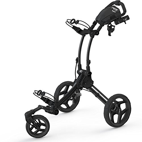 2016 Clicgear Rovic RV1S 3-Wheel Pull/Push Golf Trolley/Cart...