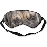 Pug Smile Wallpaper 99% Eyeshade Blinders Sleeping Eye Patch Eye Mask Blindfold For Travel Insomnia Meditation preisvergleich bei billige-tabletten.eu