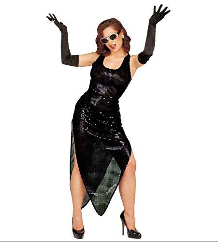 Imagen de algodón negro guantes de plumas 60cm para disfraces accesorios alternativa
