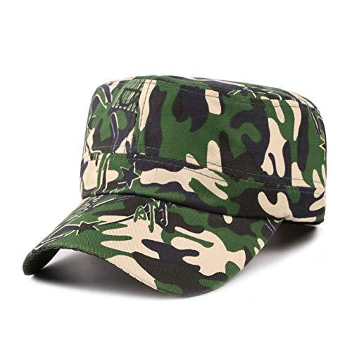 TRGFB Baseball Kappe Digital Camo Cap Casquette Camouflage Hüte Für Männer Flache Kappe Blank Plain Camo Hüte Army Outdoor Baseball Cap Hysteresenhut Hip Hop Männer (Camo-hut Digital)