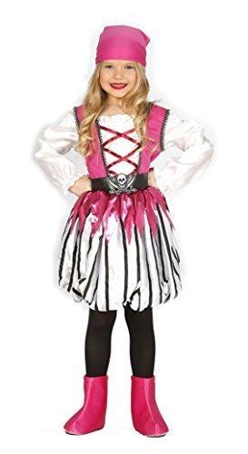 (Mädchen rosa Piraten Bösewicht See Prinzessin Kostüm Kleid Outfit 3-12 Jahre - Rosa, 5-6 Years)