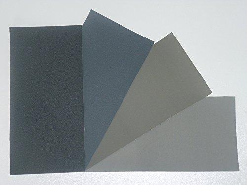 Micro-Mesh Schleifpolier Kit - 4 Blatt 6 x 4 Zoll