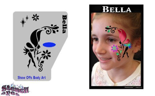 face-painting-stencil-profile-bella-by-showoffs-body-art