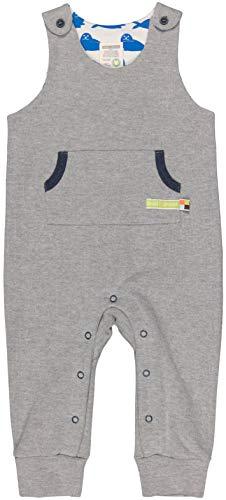 loud + proud Unisex Baby Uni Aus Bio Baumwolle, GOTS Zertifiziert Strampler, Grau (Grey Gr), 80 (Herstellergröße: 74/80)
