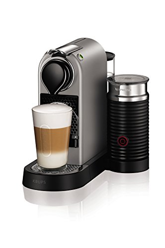 Nespresso XN760B40 Nespresso Citiz and Milk Coffee Machine, 1710 W, Silver by Krups